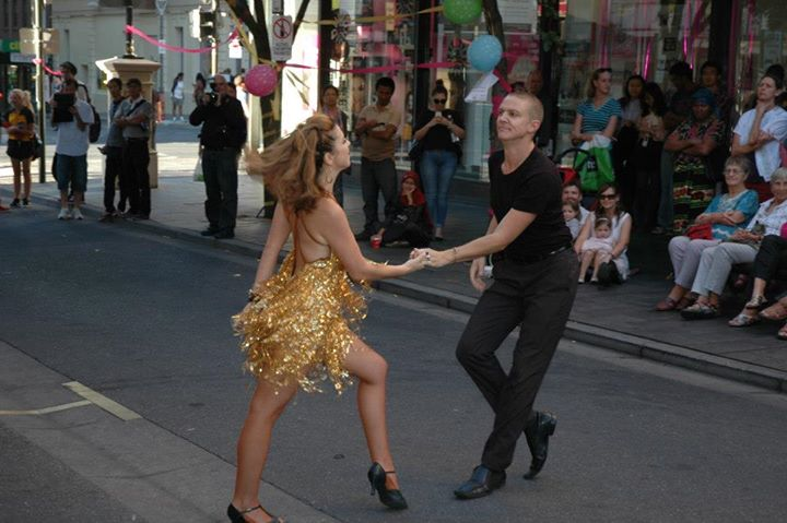 Dancing In Leigh St